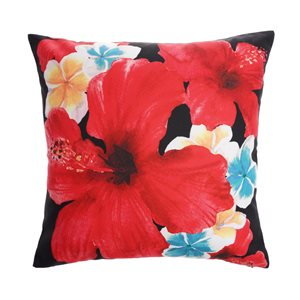 Style Selections SS 16X16 Hibiscus