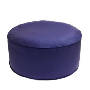 Style Selections Inflatable Pouf Navy