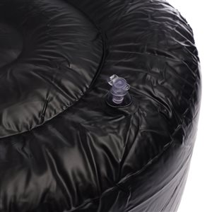 allen + roth AR BS 20X10 Inflatable Link Pouf