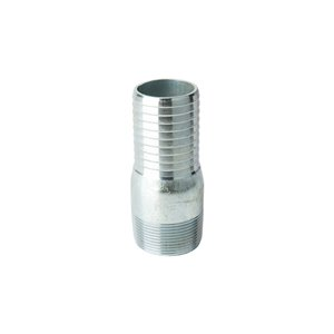 1-1/2-in Dia. Galvanized Steel Male Insert Adapter Fitting