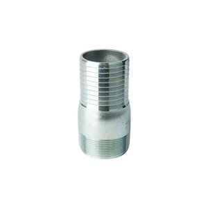 2-in Dia. Galvanized Steel Male Adapter Fitting (10-Pack)