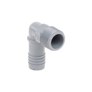 1-in Dia. 90-Degree Poly Male Combination Elbow Fitting (10-Pack)