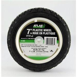 Atlas 7-in Plastic Lawnmower Wheel