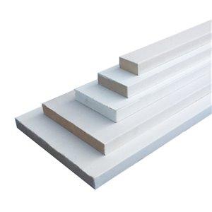 1-in x 2-in x 8-ft Primed MDF Appearance Board