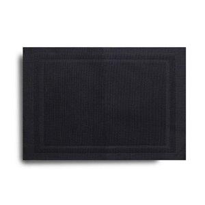 Harman Lustre Vinyl Placemat Black