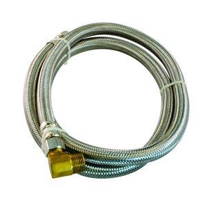 Aqua-Dynamic Aqua-Dynamic 3/8 in Comp. x 3/8 in MIP 72 in Flex Connector for Dishwasher