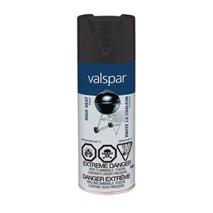 Valspar 340g Black High Gloss BBQ Spray Paint