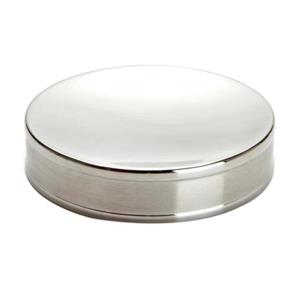 Moda at Home Moda at Home Satin Stainless Steel Two Tone Soap Dish
