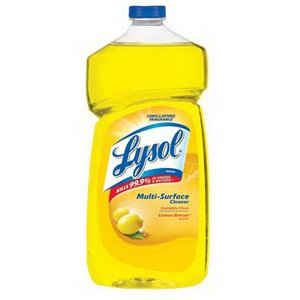 1.2L Pleasant Fresh Lemon Multi-Surface Cleaner