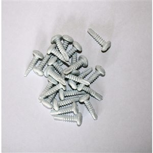 3/4-in White Self-Drilling Deck Screw (50-Count)
