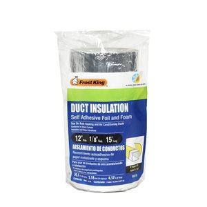 Frost King 1/8-in Foam Plumbing Pipe Insulation