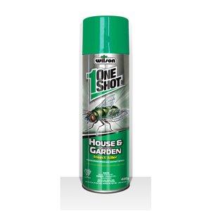 OneShot 400g Aerosol House and Indoor Garden Insecticide