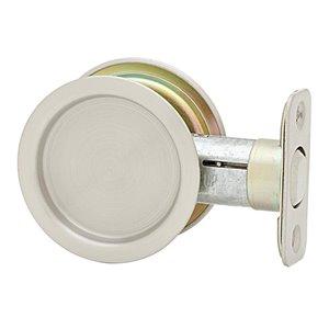 Weiser 2-1/8-in Satin Nickel Passage Pocket Door Pull