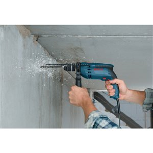 Bosch 7 Amp 1/2-in Variable Speed Corded Hammer Drill with Hard Case