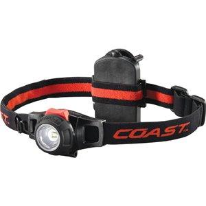 Coast 285 Lumens Led Headlamp Battery Flashlight Battery Included