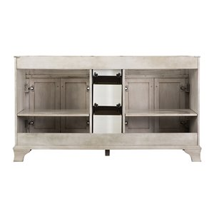 Foremost Corsicana 60-in Antique Gray Vanity