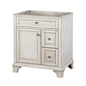 Foremost Corsicana 30-in Antique White Vanity