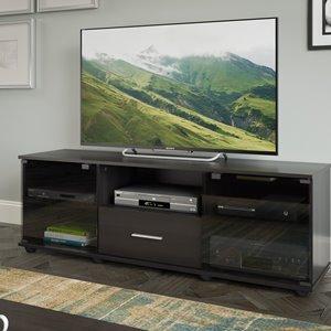 CorLiving Fernbrook Black TV Stand