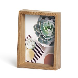 Umbra 5 x 7 Natural Wood Edge Picture Frame