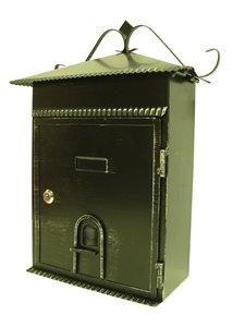 Fine Art Lighting Ltd. Rustic Black 13.5-in x 6-in x 17.5-in Mailbox