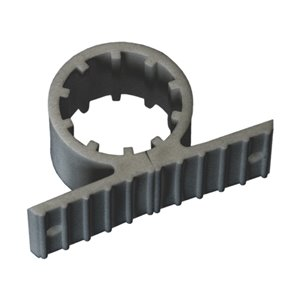 1/2-in Dia. Plastic Standard Pipe Support Clamp (5-Pack)