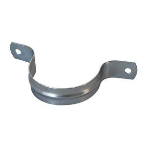 2-in Dia. Galvanized 2-Hole Pipe Strap