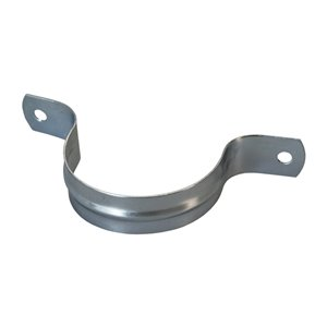 1-1/2-in Dia. Galvanized 2-Hole Pipe Strap (4-Pack )