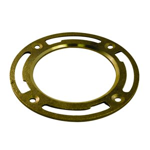Aqua-Dynamic Aqua-Dynamic 4 in Heavy Pattern Brass Floor Flange
