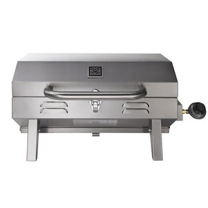 Master Forge Stainless Steel Portable Gas Grill N/A 12000-Btu 198 Sq.-in Portable Gas Grill