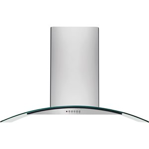 Frigidaire 30-in 400 CFM Wall-Mounted Range Hood (Stainless Steel)