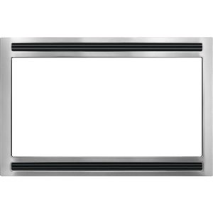 Frigidaire 27-in Microwave Trim Kit (Stainless Steel)