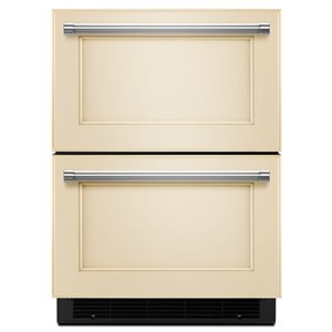 KitchenAid 23.75-in Built-in 2 Drawer Refrigerator (Panel Ready)