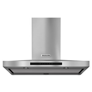 KitchenAid 36-in 600 CFM Wall-Mounted Range Hood (Stainless Steel)