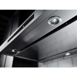 KitchenAid 36-in 600 CFM Wall-Mounted Range Hood (Stainless Steel)