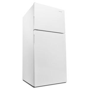 Amana 30-in 18.1-cu ft Top-Freezer Refrigerator  (White) ENERGY STAR
