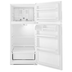 Amana 28-in 14.3-cu ft Top-Freezer Refrigerator (White)