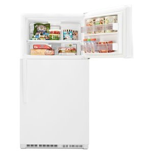 Whirlpool 32.75-in 21.3-cu ft Top-Freezer Refrigerator Optional (Sold Separately) (White) ENERGY STAR