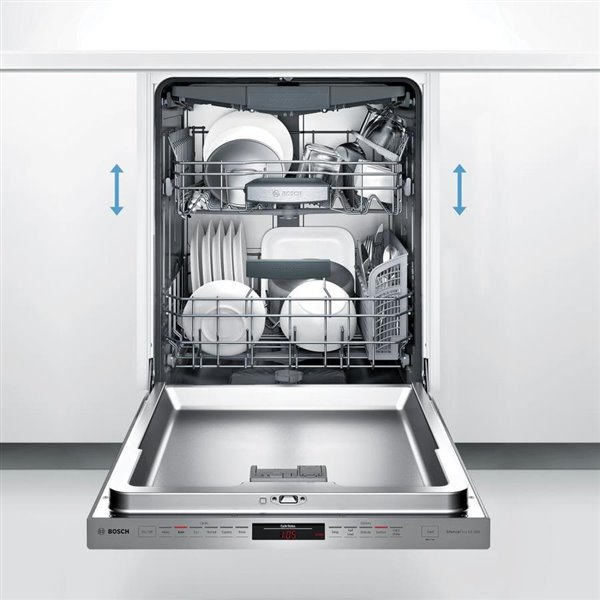 Bosch 800 Series 24 In 44 Decibel Built In Dishwasher Panel Ready Energy Star Lowe S Canada