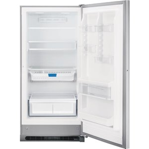 Frigidaire Gallery 20.5-cu ft Frost-Free Upright Convertible Fridge/Freezer (Smudge-Proof Stainless Steel) ENERGY STAR