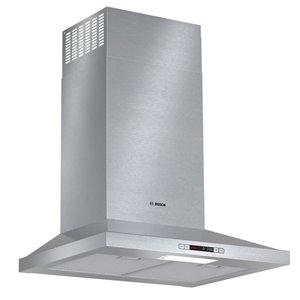 Bosch 24-in 300 CFM Wall-Mounted Range Hood (Stainless Steel)