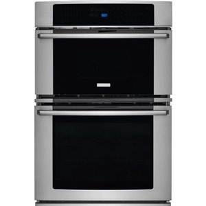 Frigidaire 30-in Self-Cleaning Convection Microwave Wall Oven Combo (Stainless Steel)