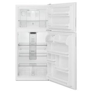 Maytag 30-in 18.2-cu ft Top-Freezer Refrigerator (White)