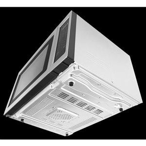 KitchenAid 1.6-cu ft 1200.0-Watt Countertop Microwave (Stainless steel)