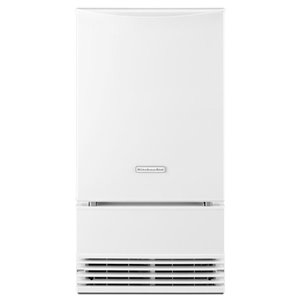 KitchenAid 50-lb Drop-Down Door Built-In Ice Maker (White)