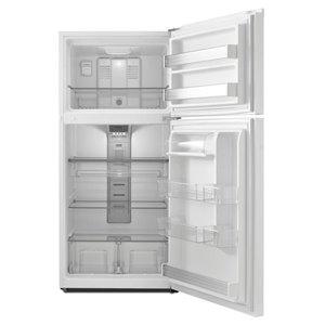 Maytag 30-in 19.15-cu ft Top-Freezer Refrigerator (White)