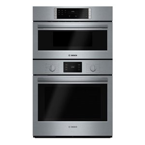 Bosch Self-Cleaning Microwave Wall Oven Combo (Stainless Steel) (Common: 30 -in; Actual: 29.75-in)