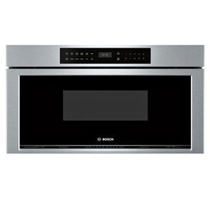 Bosch 30-in 1.2-cu ft Microwave Drawer (Stainless Steel)