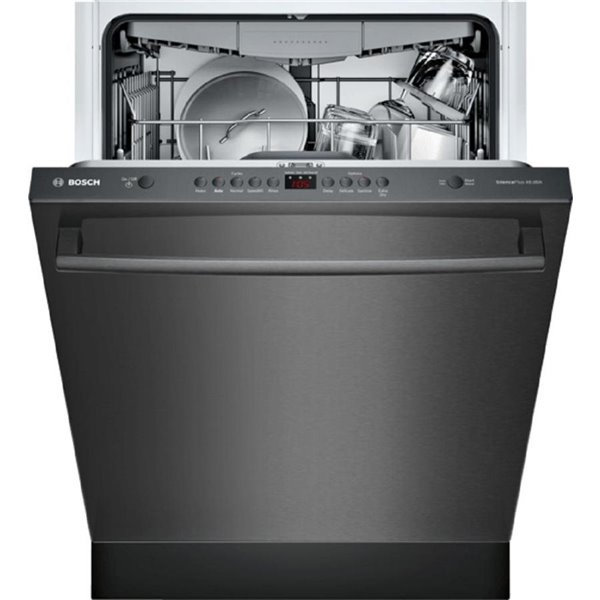 Bosch 800 Series 24 In 39 Decibel Built In Dishwasher With Hidden Control Panel Stainless Steel Energy Star Lowe S Canada