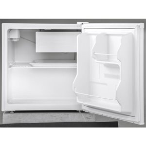 Haier 1.7-cu ft Built-in Compact Refrigerator with Freezer Compartment (White) ENERGY STAR