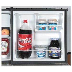 Haier 1.7-cu ft Compact Refrigerator with Freezer Compartment (Black) ENERGY STAR